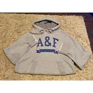 Abercrombie & Fitch XXL Grey Muscle Hoodie